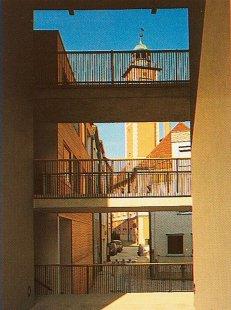 Housing for the Eldely in Eichstätt - foto: © Peter Bonfig