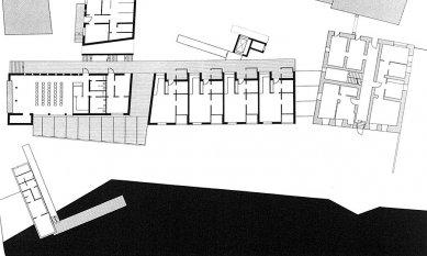Housing for the Eldely in Eichstätt - Půdorys přízemí - foto: © Architekturbüro Huber