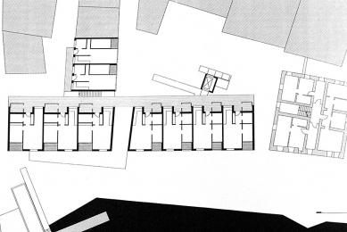 Housing for the Eldely in Eichstätt - Půdorys patra - foto: © Architekturbüro Huber