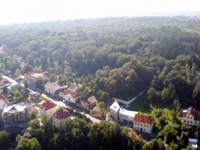 Dům s ateliérem v Praze-Liboci - foto: archiv Jana Línka