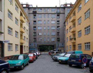 Bytové domu Falkensteinerovy nadace - foto: © Petr Šmídek, 2007