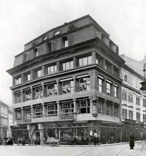 Dům U Černé Matky Boží - foto: archiv redakce