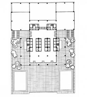 Seagram Building - Půdorys přízemí - foto: archiv redakce