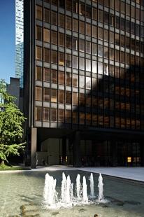 Seagram Building - foto: © Štěpán Vrzala, 2007