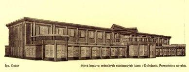 Lázeňský dům - Perspektiva - foto: archiv redakce