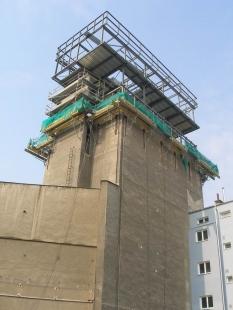 Přestavba sila v Olomouci - Stavba - foto: C+HO_aR a Tomáš Pejpek