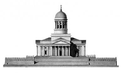 Dóm a Senátní náměstí - Průčelí dómu - foto: archiv redakce