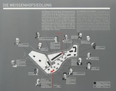 Weissenhofsiedlung - Mapa - foto: Petr Šmídek, 2011