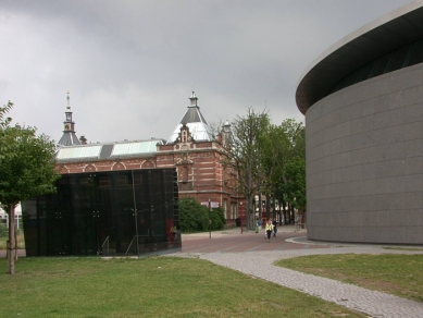 Vincent van Gogh Museum addition - foto: © Petr Šmídek, 2003