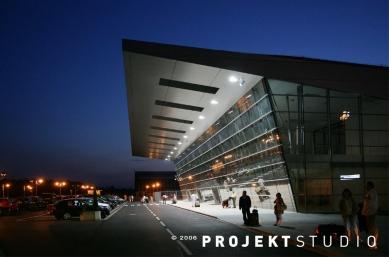 Odbavovací hala Letiště Ostrava - foto: PROJEKTSTUDIO