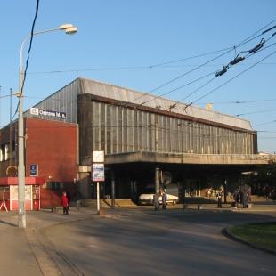Rekonstrukce fasády hlavního nádraží v Ostravě - Původní stav - foto: PROJEKTSTUDIO
