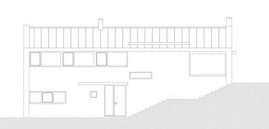 Rodinný dům Strážky - Pohled jižní - foto: © 3+1 architekti