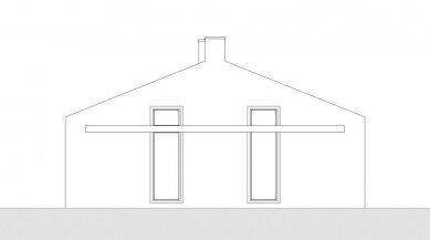 Rodinný dům Strážky - Pohled východní - foto: © 3+1 architekti