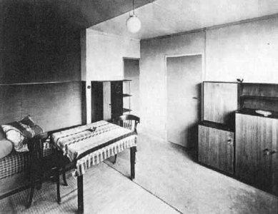 Sídliště Törten - Interiér bytu - foto: archiv redakce