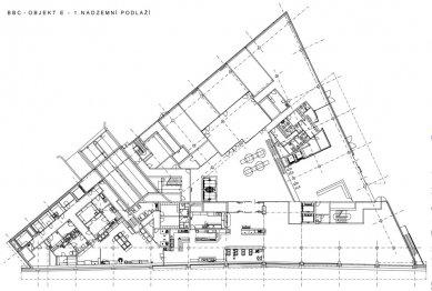 """Administrativní budova """"E"""" - 1NP - foto: Aulík Fišer architekti, s.r.o."""