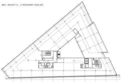 """Administrativní budova """"E"""" - 2NP - foto: Aulík Fišer architekti, s.r.o."""