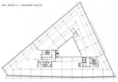"""Administrativní budova """"E"""" - 4NP - foto: Aulík Fišer architekti, s.r.o."""
