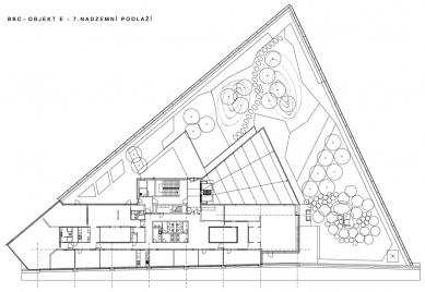 """Administrativní budova """"E"""" - 7NP - foto: Aulík Fišer architekti, s.r.o."""