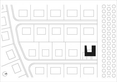 """Rodinný dům """"šnek"""" - Situace - foto: LENNOX architekti"""