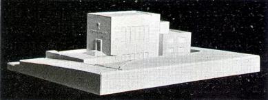 Husův sbor církve československé - Soutěžní návrh: model - foto: archiv redakce