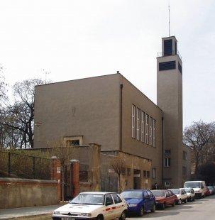 Husův sbor církve československé - Současný stav - foto: © archiweb.cz, 2005