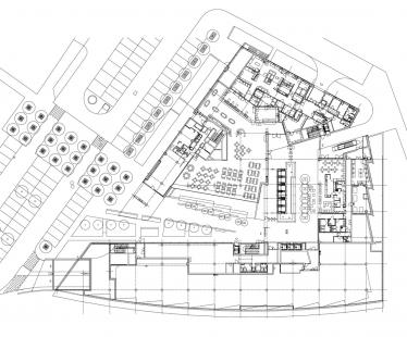 Administrativní objekt BBC – Gamma - 1NP - foto: Aulík Fišer architekti, s.r.o.