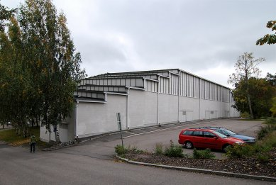 Sportovní hala v Otaniemi - foto: © Petr Šmídek, 2007