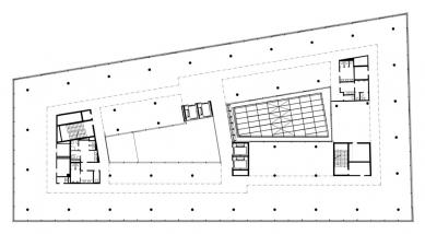 Administrativní objekt BBC - Beta - Typické patro - foto: Aulík Fišer architekti, s.r.o.