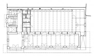 Rekonstrukce Edisonovy transformační stanice - 1NP - foto: Architektonická kancelář Lábus