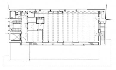 Rekonstrukce Edisonovy transformační stanice - 2NP - foto: Architektonická kancelář Lábus