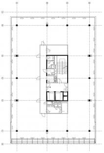 BBC residence a Office park - 5NP - objekty 2 a 3 - foto: Studio A