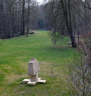 Lávka v zámeckém parku - foto: © Ondřej Císler