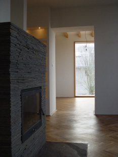 Rekonstrukce a přístavba rodinného domu ve Všenorech - foto: archiv Symbio Design