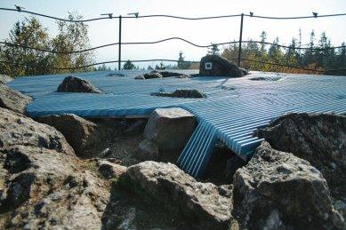 Úprava vrcholu Bradlo - foto: archiv autora