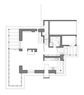 Rodinný dům v Křeslicích - 1NP - foto: Jiran Kohout architekti