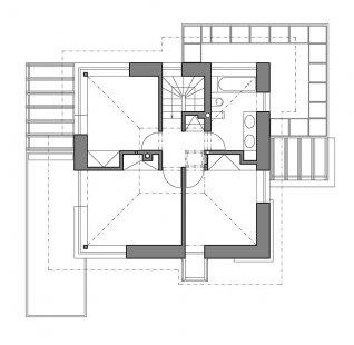 Rodinný dům v Křeslicích - 2NP - foto: Jiran Kohout architekti