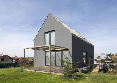 Novostavba rodinného domu ve Zdibech - foto: Ester Havlová
