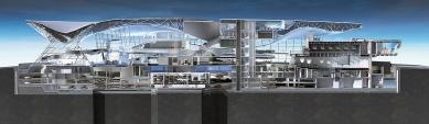 BMW Welt - Vizualizace - foto: © Coop Himmelb(l)au Prix, Dreibholz & Partner ZT GmbH