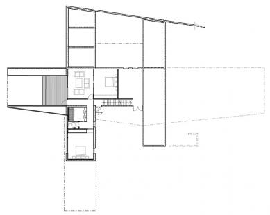 Dům v Cape Schanck - Suterén - foto: Jackson Clements Burrows Pty Ltd Architects