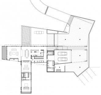 Dům v Cape Schanck - Přízemí - foto: Jackson Clements Burrows Pty Ltd Architects
