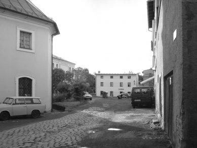 Rekonstrukce Kostelního náměstí v Broumově - Původní stav - foto: Archiv autorů