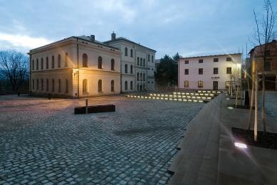 Rekonstrukce Kostelního náměstí v Broumově - foto: Ester Havlová