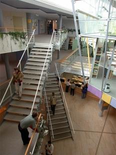 Eichstätt Catholic University Central Library - foto: © Petr Šmídek, 2002