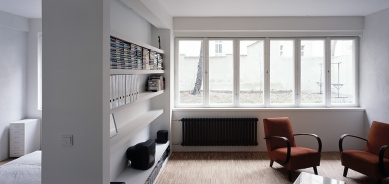 Rekonstrukce bytu v Praze 7 na Letné - foto: Tomáš Balej