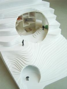 House in Vals - Fotografie modelu - foto: © SeARCH