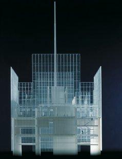 The New York Times - Model ukončení mrakodrapu - foto: © RPBW