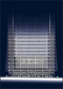 The New York Times - Detail vstupu - foto: © RPBW