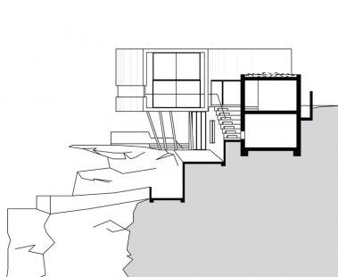 Holman House - Řez - foto: Durbach Block Architects