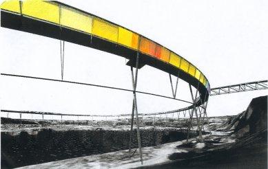 Lávka nad Brick Pit - Vizualizace - foto: Durbach Block Architects