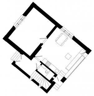 Dům s oknem - Současný stav - foto: HŠH architekti
